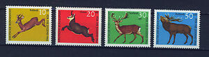 ALEMANIA-RFA-WEST-GERMANY-1966-MNH-SC-B412-B415-Deers