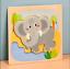 miniature 6 - Mignon Coloré en Bois Puzzle Baby Kids Toddler Jigsaw Animal À faire soi-même Learning Toy UK