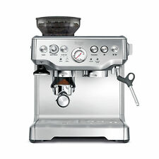 48bdc0db9b Breville BES870XL Barista Stainless Steel Espresso Coffee Machine with  Grinder
