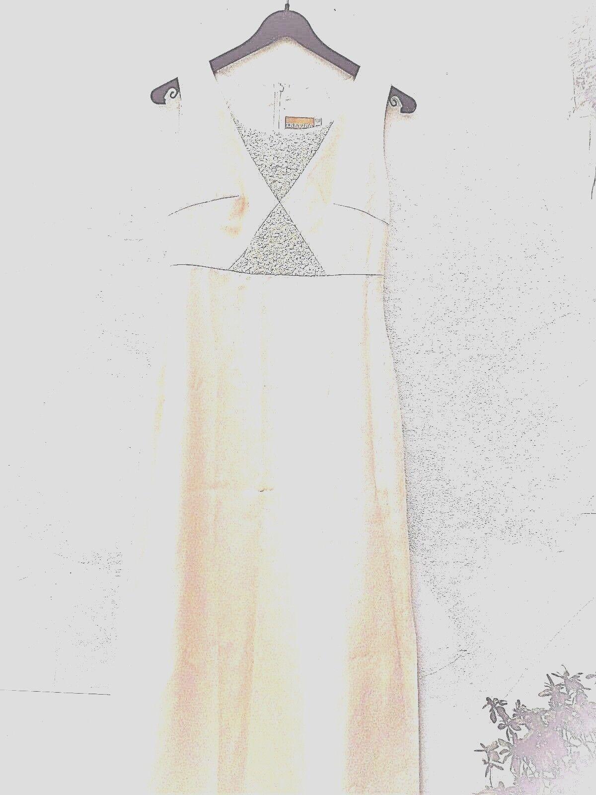 Abendkleid Ballkleid Hochzeitskleid lang 34 36 XS S(38 NEU champagner champagner champagner Pailletten   Shop  cb1d51