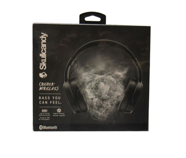 Skullcandy Crusher Wireless Noise Isolating Over-Ear Headphones Black *S6CRWK591