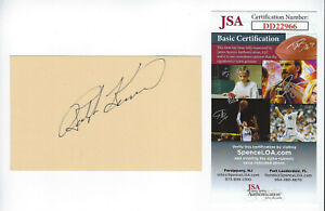 PIRATES-Ralph-Kiner-signed-3x5-index-card-JSA-COA-AUTO-Autographed-Pittsburgh