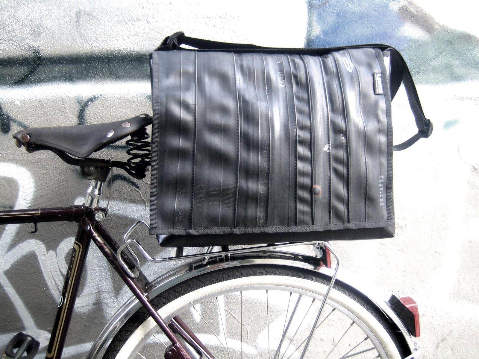Leonca Tasche Gr.L aus Fahrradschlauch       Garantiere Qualität und Quantität    Tragen-wider    Düsseldorf Online Shop  0f8f64