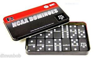 TEXAS-A-amp-M-AGGIES-OFFICALLY-LICENSED-DOMINOES-SET