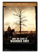 Bury My Heart At Wounded Knee Movie DVD Factory Sealed New Free Shipping