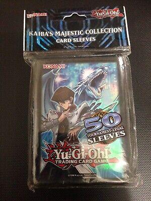 Karten H/üllen 50 STK. Yugioh Card Sleeves Kaiba Corp