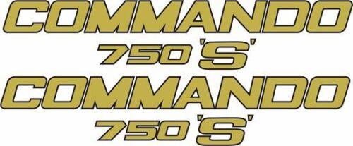 NORTON Commando 750 S RESTAURO le decalcomanie//GLI ADESIVI