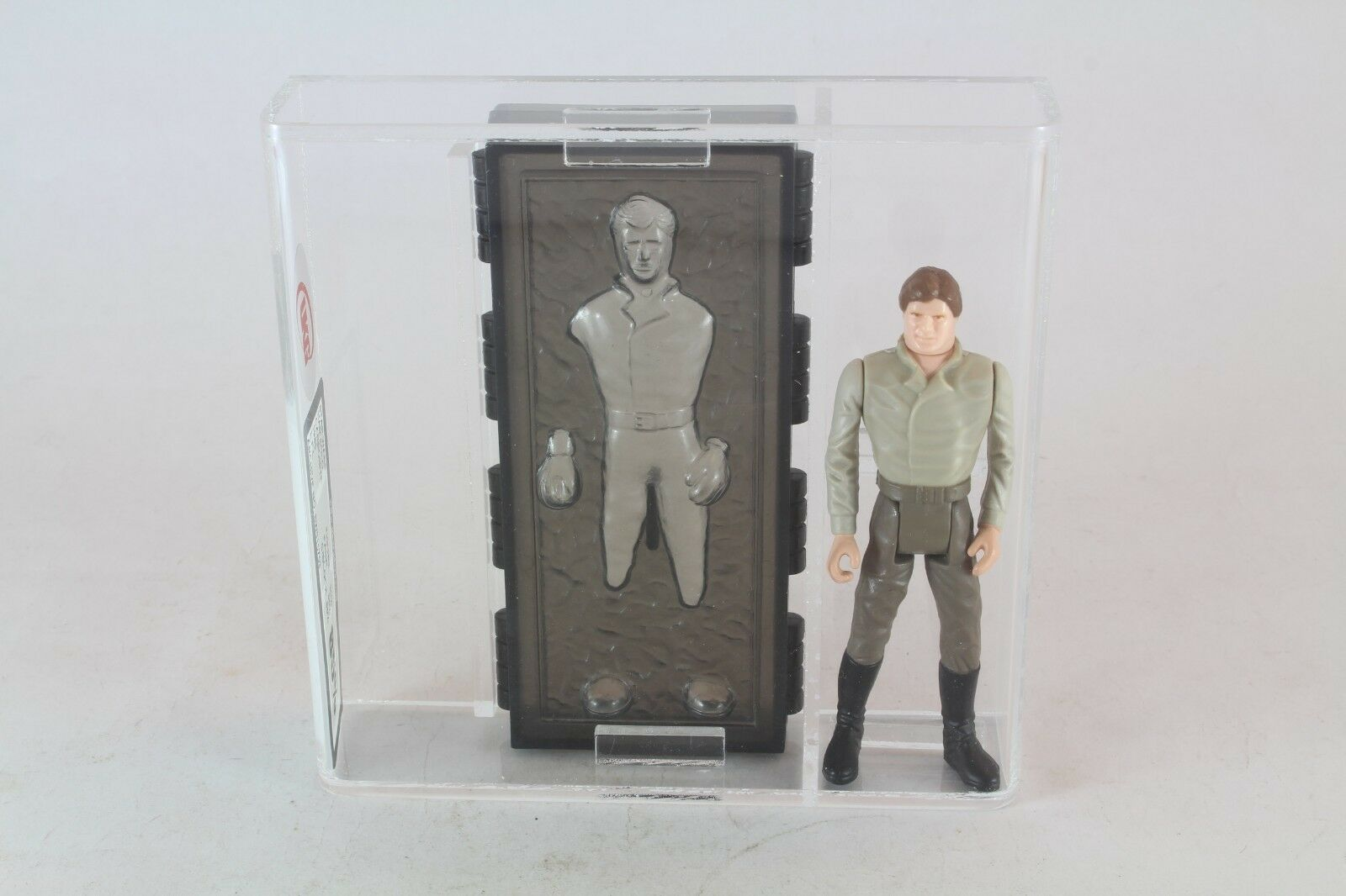 Star Wars Han Solo Carbonite Vintage Figure UKG Graded 85 Not AFA Last 17