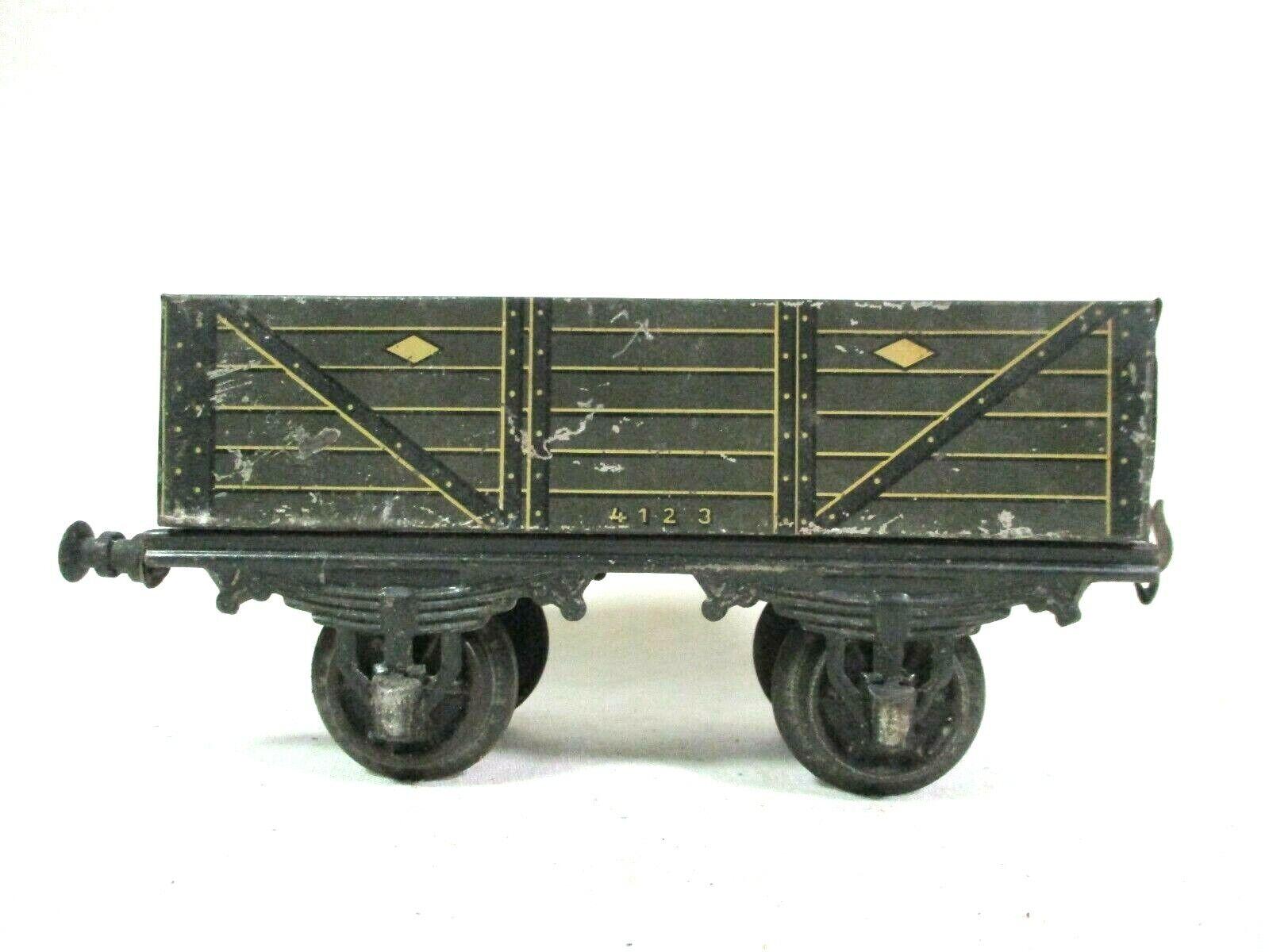 Bing LNWR 1 Gauge Gondola Vintage Model Railway Train Freight Car B62-27