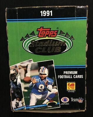 1991 Topps Stadium Club Football