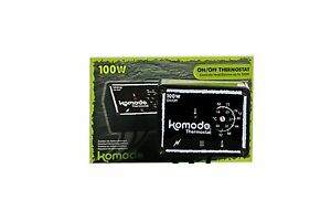 Komodo On Off 100w Thermostat Matstat Ministat Ideal For Heat