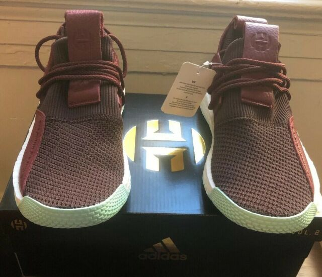 3f3dae56d Adidas James Harden LS 2 Lace Sz 8.5 MSRP  160 Maroon Red Mint Basketball  CG6277