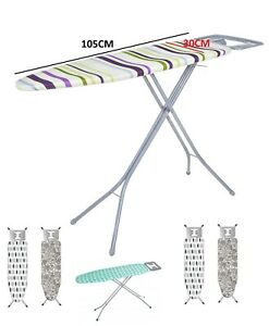 Folding-Metal-Ironing-Board-Iron-Rack-Non-Slip-Feet-Foldable-Adjustable-Height