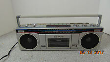 Sanyo Vintage Boombox Radio M7000 AM/FM Stereo Cassette Recorder Player Portable