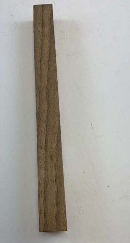 "Beautiful American Walnut  Hobby Wood Turning Blanks Size 1/"" X 1/"" X 12/"""