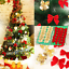 12X Bow Christmas Tree Decoration Xmas Hanging Ornament Bowknot Party Home Decor