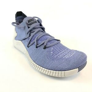 the latest 86c40 f8db1 Nike Womens Free Tr Flyknit 3 Training Gym Shoe Purple Grey Sz 8