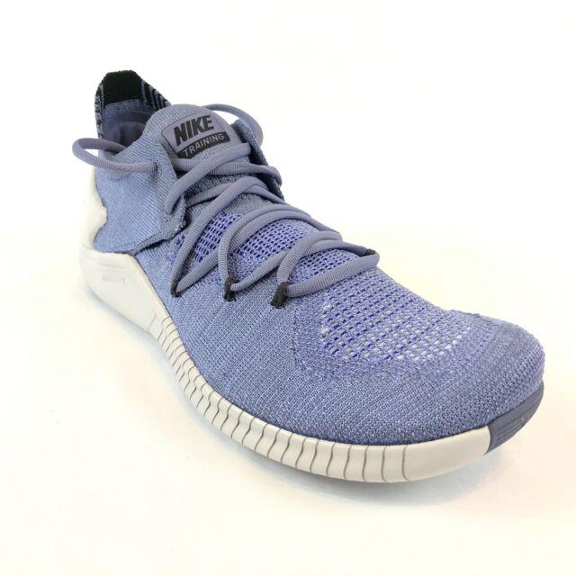 836c08789918 Nike Womens Free TR Flyknit 3 Training Gym Shoe Purple Grey Sz 8 942887-500