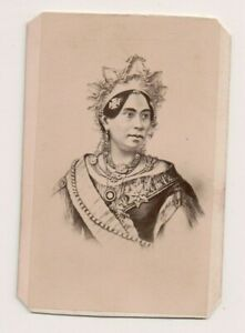 Vintage-CDV-Rasoherina-Queen-of-Madagascar-Jacotin-Photo