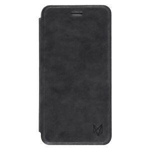 Foxwood-Book-Stile-Flip-Custodia-in-pelle-per-iPhone-7-Nero-Plus