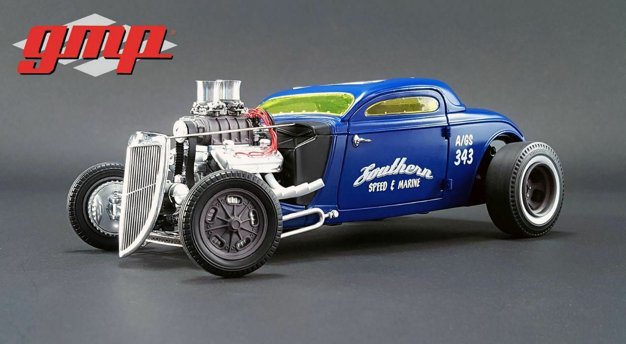 GMP 1934 Blown Alterot Nitro Coupe - Southern Speed & Marine 1 18