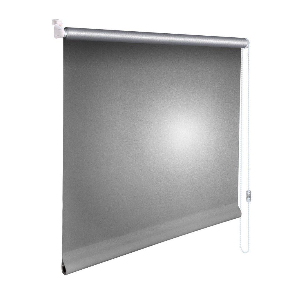 Minirollo Klemmfix THERMO Rollo Verdunkelungsrollo - Höhe 110 cm silber-grau  | Nutzen Sie Materialien voll aus  | Zahlreiche In Vielfalt  | Großer Verkauf
