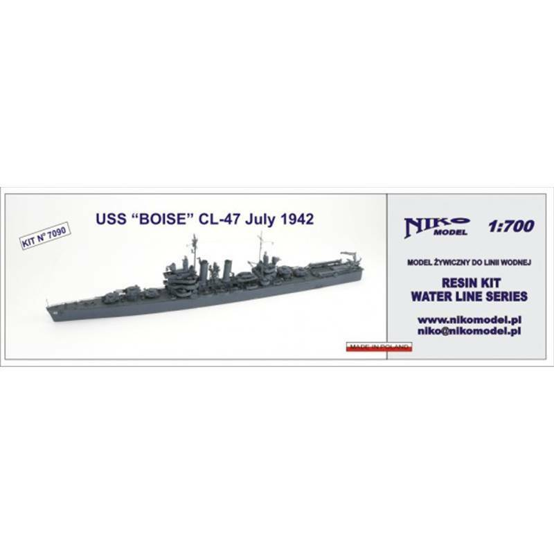 1 700 USS  BOISE  CL-47 JULY 42