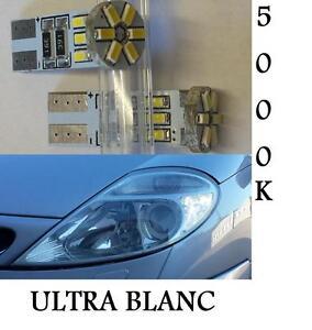 2 ampoule led w5w canbus ultra blanc vw golf 3 4 5 6. Black Bedroom Furniture Sets. Home Design Ideas