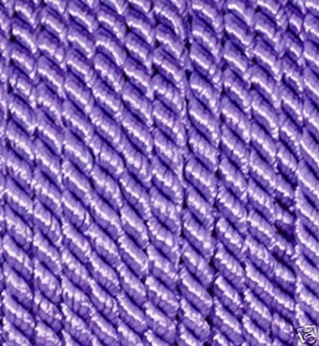 LILAC BRAIDED CORD PIPING 4 mm  x 2 metre length