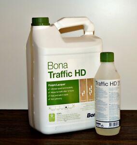 Bona-Traffic-HD-4-95L-halbmatt-silkmatt-Parkettlack-2K-Versiegelung-Wasserlack