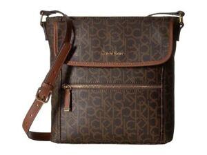 Calvin-Klein-Hudson-Monogram-Saffiano-Leather-Crossbody-Bag-Brown-Khaki-Luggage