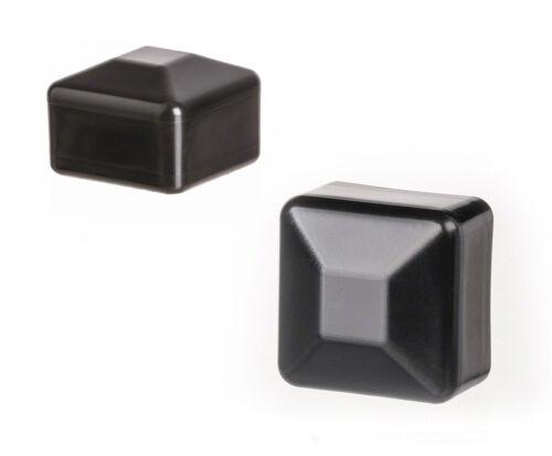10 caps post end cap square plastic fence accessories cover tube plug external