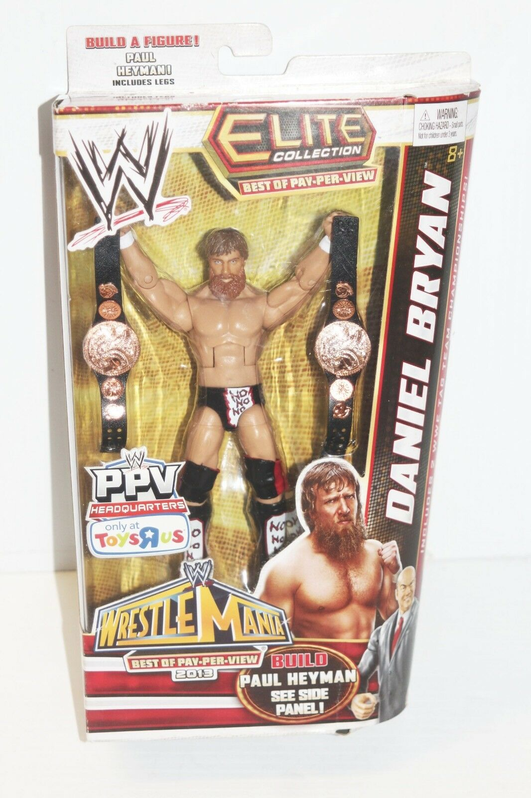 New - WWE Elite Collection Daniel Bryan Toys Toys Toys R Us Exclusive Pay Per View Figure f97011