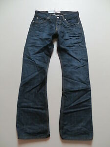 Levi-039-s-512-Bootcut-Jeans-Hose-W-33-L-34-NEU-dark-indigo-Vintage-Denim-KULT