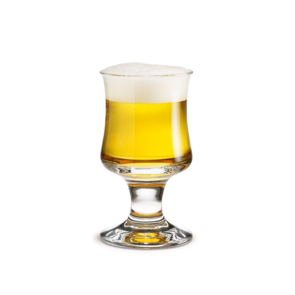 Glas, Ølglas x 3, Holmegaard - Per Lütken - Skipper