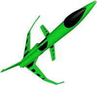 Estes Flying Model Rocket Kit Scorpion 7232