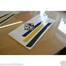 KNAUS - (STYLE 2) - Motorhome Side Flash Logo Sticker Decal Graphic - SINGLE