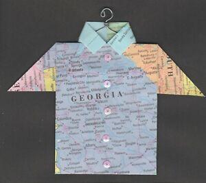 Origami-Map-Shirt-Georgia-Atlanta-Greensboro-Vidalia-Albany-Macon-Augusta