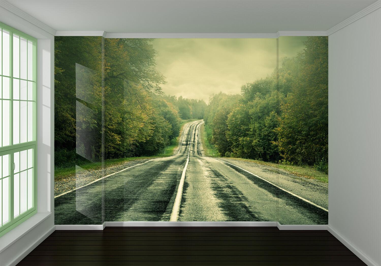 3D Autobahn 47 Fototapeten Wandbild Fototapete Bild Tapete Familie Kinder