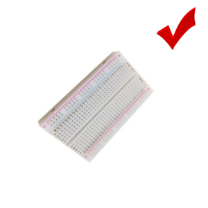 Reusable Mini Breadboard PCB Solderless Protoboard Test Board 400 Hole Tie Point