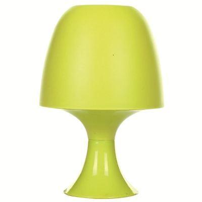 Lampe Design champignon  Vert  Déco   Lampe de Chevet    H 23.5 cm