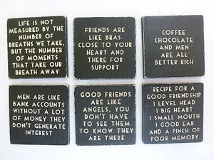 Black-Wooden-Fridge-Magnet-Novelty-Birthday-Gift-Mum-Sister-Girlfriend-Valentine