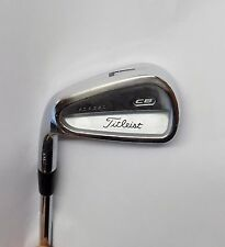 Left Handed Titleist 710 CB Forged 7 Iron Rifle 5.5 Steel Shaft