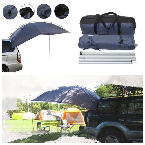 Awning Roof Top SUV Shelter Car Tent Trailer Camper Outdoor Camping Canopy W//Bag