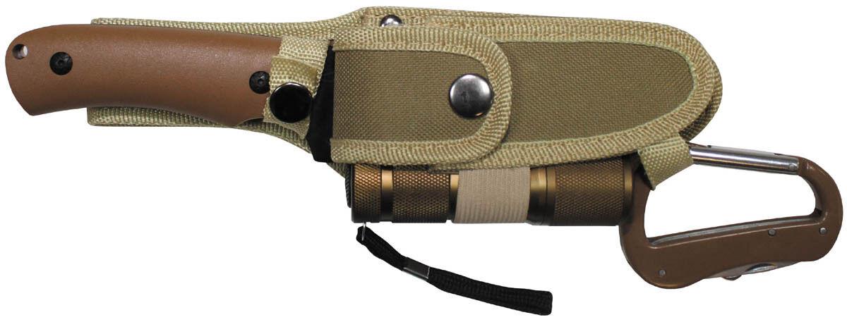 MFH Messerset mit LED und Nylonscheide Taschenmesser Campingmesser Campingmesser Campingmesser Messer  | Die erste Reihe von umfassenden Spezifikationen für Kunden  777816