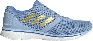Details about Adidas Adizero Adios 4 Boost Womens Running Shoes-Blue- show  original title