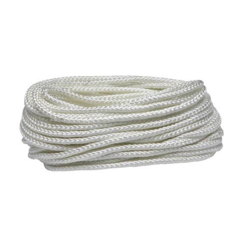 10 mm blanc en polypropylène corde tressée CORDON LIGNE Voile Boating Escalade Camping
