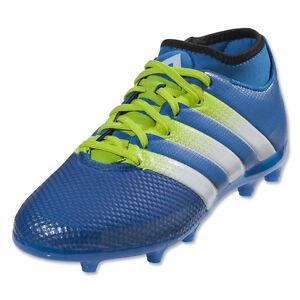 online store b5a96 5c4ea Image is loading adidas-Jr-ACE-16-3-Primemesh-FG-AG-