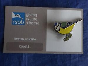 RSPB-GNaH-blue-tit-Metal-Pin-Badge-on-FR-Card