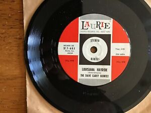THE-DAVE-CAREY-QUINTET-LOUISIANA-HAYRIDE-SHINE-ON-YOUR-SHOES-7-45-PLAYS-EX